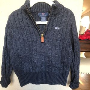 🌟Vineyard Vines Boys Cable Knit Sweater🌟